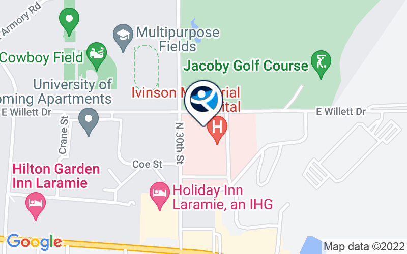 Ivinson Memorial Hospital - Behavioral Health Location and Directions