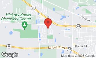 Map of 255 Grand Ridge Road ST. CHARLES, IL 60175