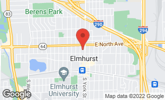 Map of 255 North Addison Avenue #617 ELMHURST, IL 60126