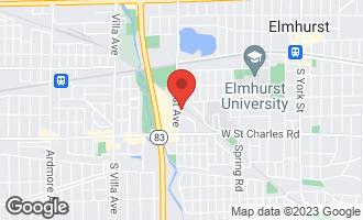 Map of 255 South West Avenue #405 ELMHURST, IL 60126