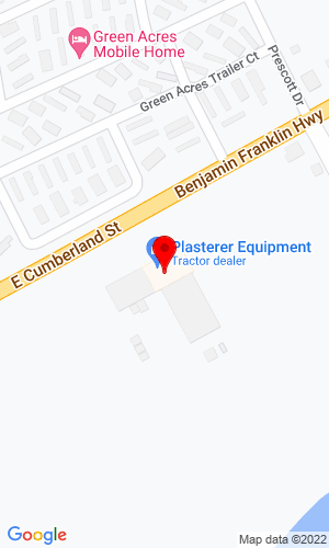 Google Map of Plasterer Equipment 2550 E Cumberland Street, Lebanon, PA, 17042