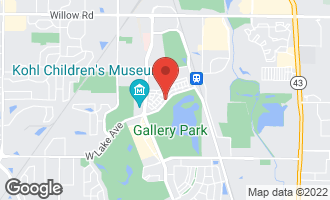 Map of 2550 West Lake Avenue GLENVIEW, IL 60026