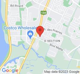 Google Map of 2555%2C+Boul.+Matte%2C+Ste+100%2CBrossard%2CQuebec+J4Y+2P4