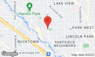 Map of 2556 North Ashland Avenue CHICAGO, IL 60614