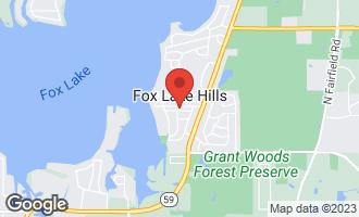 Map of 25582 West Wacker Drive LAKE VILLA, IL 60046