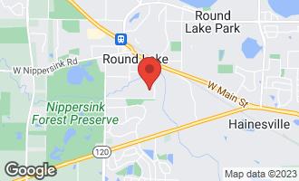 Map of 257 West Treehouse Lane #257 ROUND LAKE, IL 60073