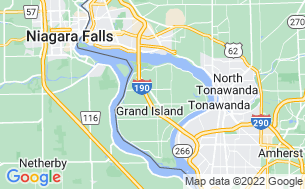 Map of Niagara Falls/Grand Island KOA