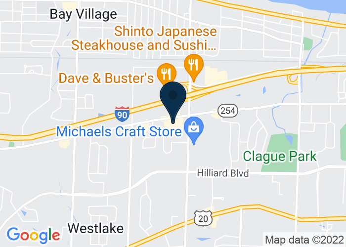 Map of 25777 Detroit Road, Westlake, OH 44145, United States