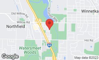 Map of 258 Lagoon Drive NORTHFIELD, IL 60093