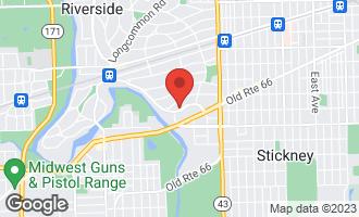 Map of 258 Lionel Road RIVERSIDE, IL 60546