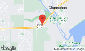Map of 25825 West Eames Street CHANNAHON, IL 60410