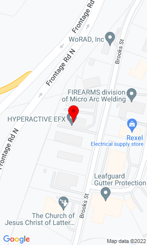 Google Map of FEL-TECH Hammer Division 259 Brooks Street, Worcester, MA, 01606