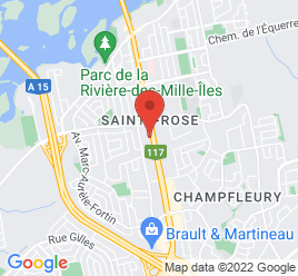 Google Map of 259+Boul+Cure+Labelle%2CLaval%2CQuebec+H7L+2Z9