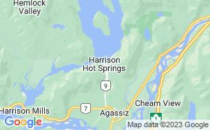 Map of Glencoe Motel & RV Park