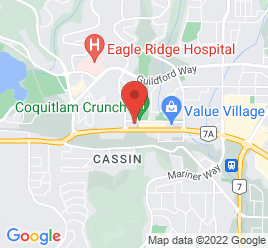 Google Map of 2595+Barnett+Highway%2CCoquitlam%2CBritish+Columbia+V3E+1K9