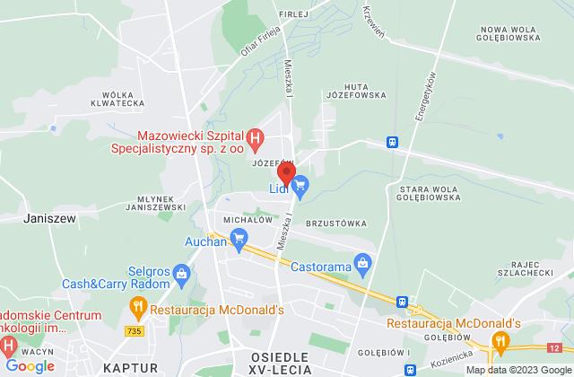 Wyświetl Adex s.c. Barbar Karolak Tadeusz Karolak na mapie