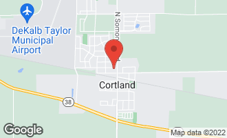 Map of 26 West Pine Avenue CORTLAND, IL 60112