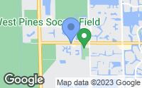 Map of Pembroke Pines, FL