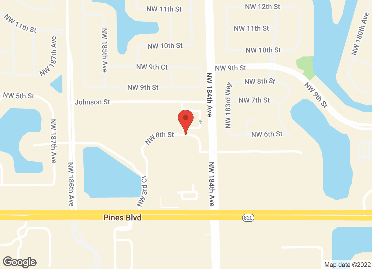Google Map of VCA Pines West Animal Hospital