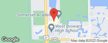 Map of 911 NW 209th Ave in Pembroke Pines