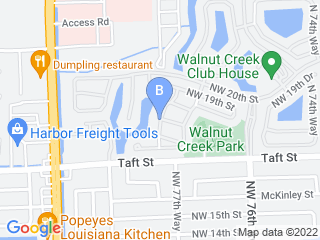 Map of 5 Paw Pets Pembroke Pines Dog Boarding options in Pembroke Pines | Boarding