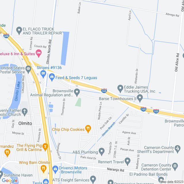 Map of SH 550