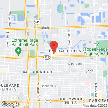 Map of Bed Bath & Beyond - CLOSED at 5511 Sheridan Street, Hollywood, FL 33021