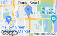 Map of Dania Beach, FL