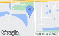 Map of Hollywood, FL
