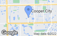 Map of Cooper City, FL