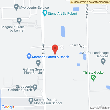 Southern Landscaping Enterprises Inc on Map (5130 Sw 64th Ave, Davie, FL 33314) Map