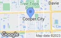 Map of Cooper City, FL