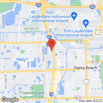 Map of Bass Pro Shops at 200 Gulf Stream Way, Dania Beach, FL 33004