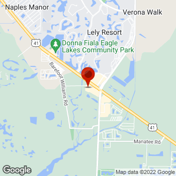 Map of Staples® Print & Marketing Services at 12632 East Tamiami Trail, Naples, FL 34113