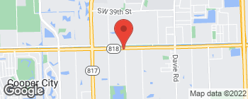 Map of 7320 Griffin Rd in Davie