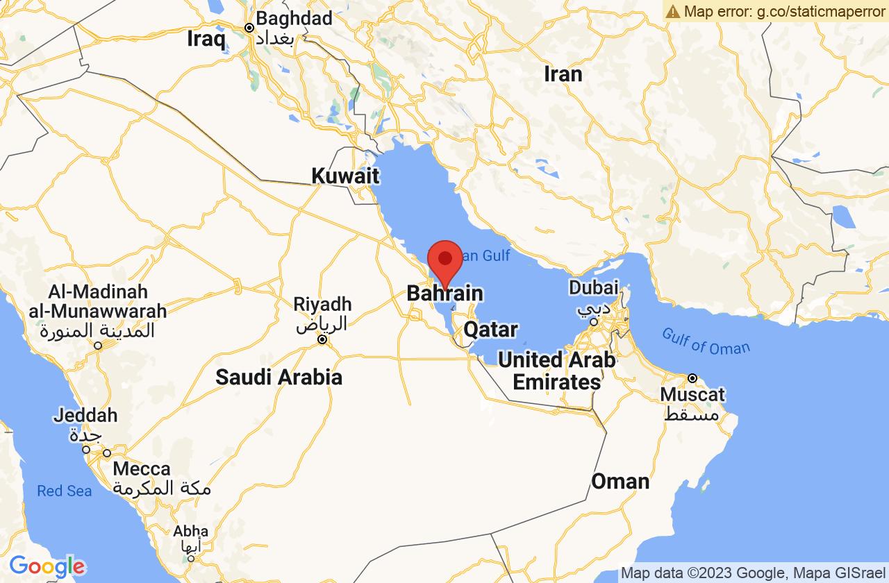 Google Map of المنامة