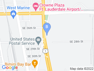 Map of Lauderdale Pet Lodge Dog Boarding options in Fort Lauderdale | Boarding