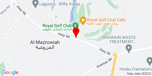 Google Map of 26.090657, 50.567099
