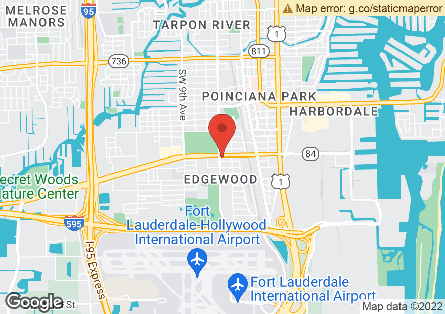 Google Map of 340 W STATE ROAD 84