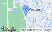 Map of Weston, FL