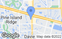 Map of Davie, FL
