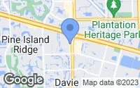 Map of Davie, FL