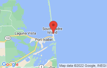 Map of South Padre Island