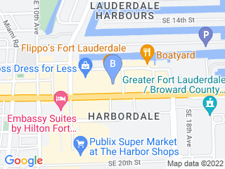 Map of Fort Lauderdale Veterinary Center Dog Boarding options in Fort Lauderdale | Boarding