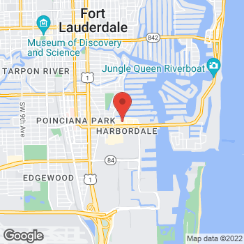 Map of Panera Bread at 1461 SE 17th Street, Fort Lauderdale, FL 33316