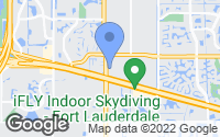 Map of Plantation, FL