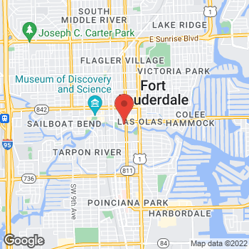 Map of Fifth Third Mortgage - Robert Mousley at 200 East Las Olas Blvd, Fort Lauderdale, FL 33301