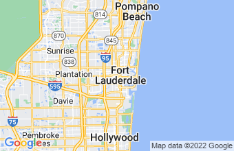 Map of Ft Lauderdale