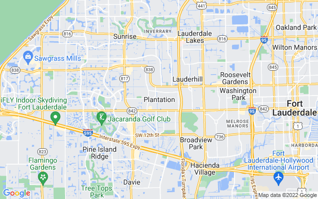 Plantation on the map