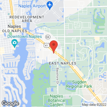 Map of Tuesday Morning at 2648 Tamiami Trail, Naples, FL 34112